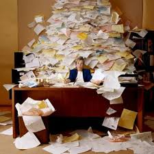 mess of papers
