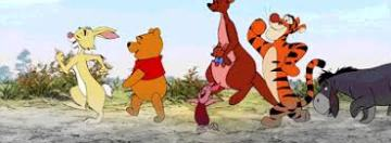 Winnie Pooh and friends