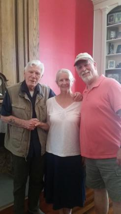 Mitchell and Barbara Ryan with Corey Rickrode Photo by P. Rickrode September 2019