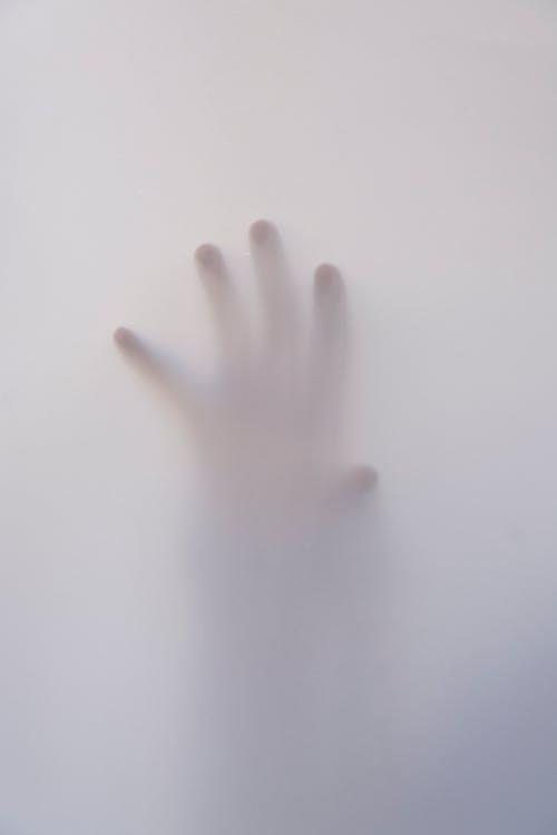 hand in fog