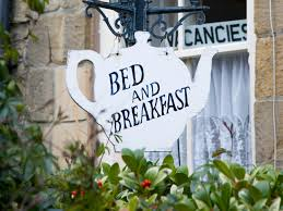 bed and breakfast sign 2