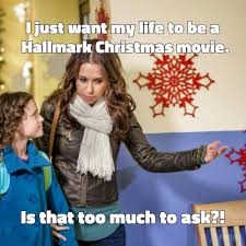 Hallmark Xmas movie meme