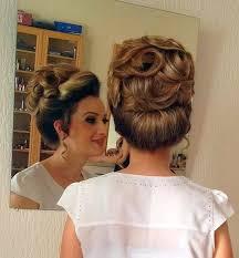 elaborate hairdo