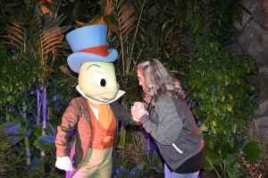me and Jiminy Cricket