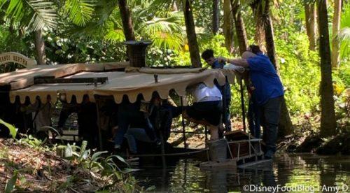 sinking Jungle boat