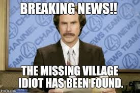 village idiot meme